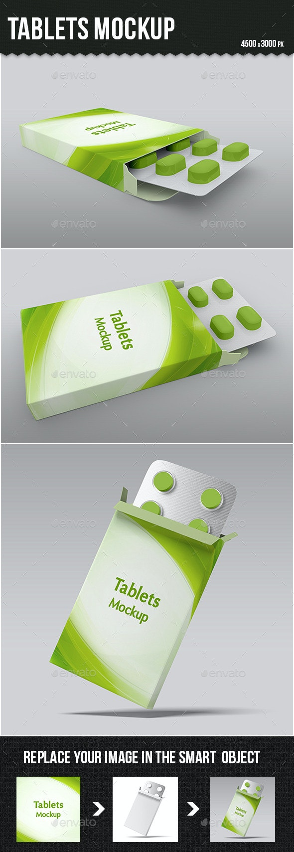 Tablets Mock-up - Miscellaneous Packaging