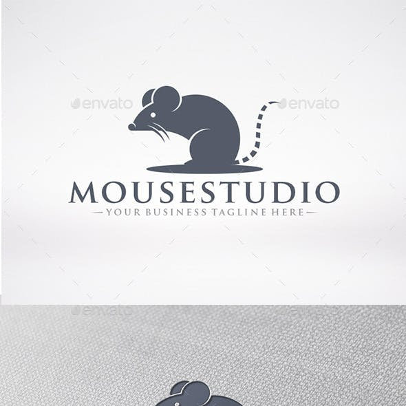 Rat Mascot Logo Template