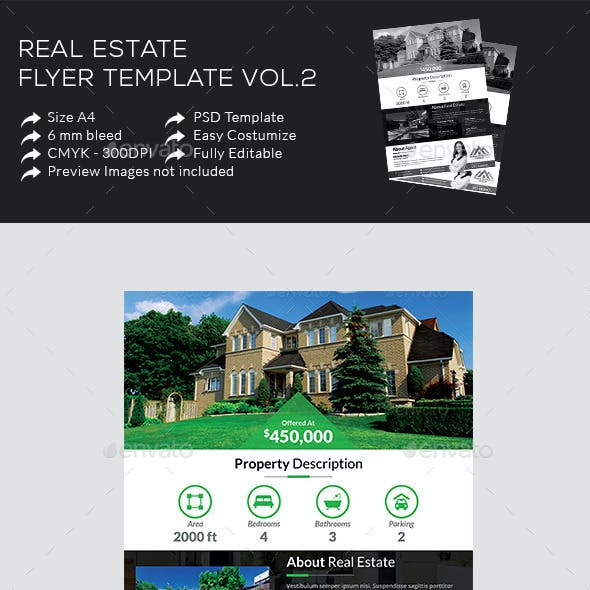 Real Estate Flyer Template Vol.2