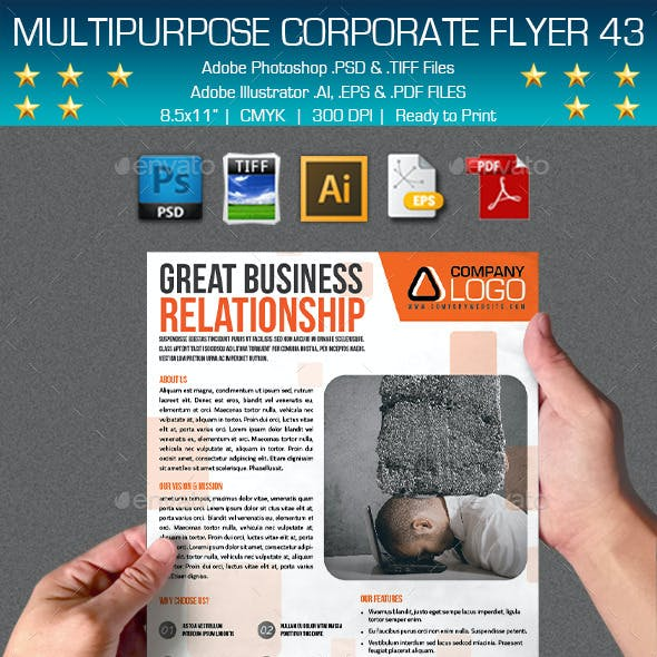 Multipurpose Corporate Flyer 43