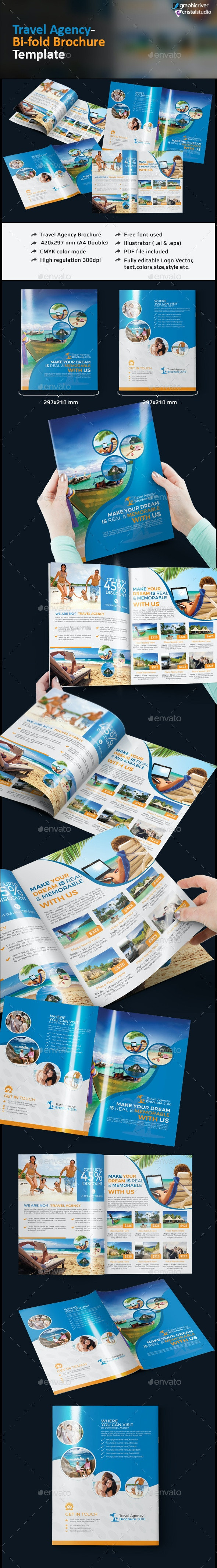 Travel Agency Brochure - Catalogs Brochures