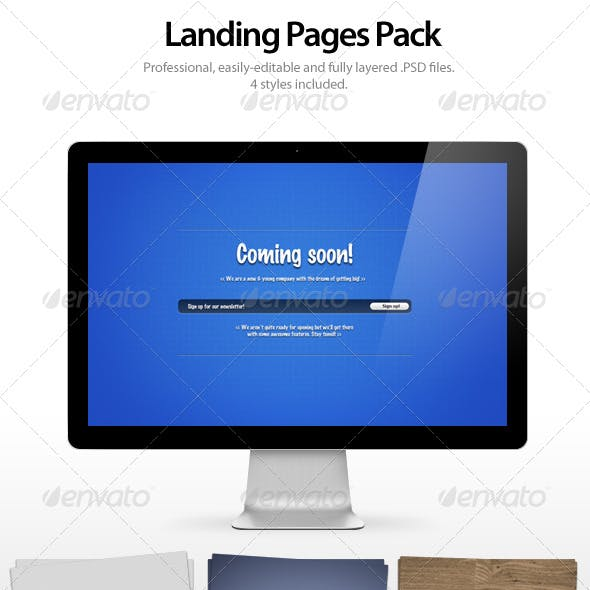 Landing Pages Pack
