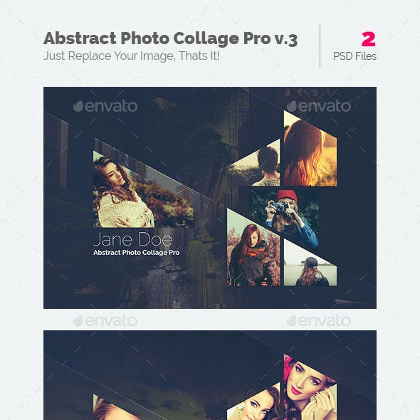 Abstract Photo Collage Pro v.3