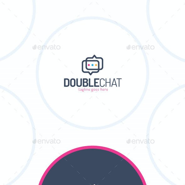 Double Chat Logo
