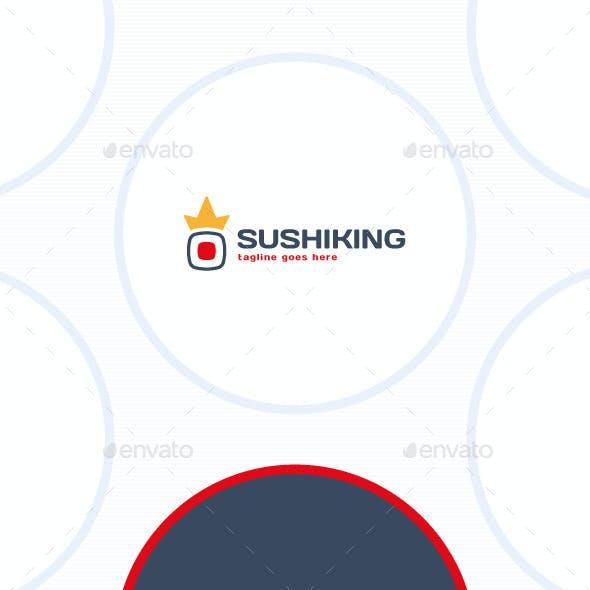 Sushi King Logo - Crown