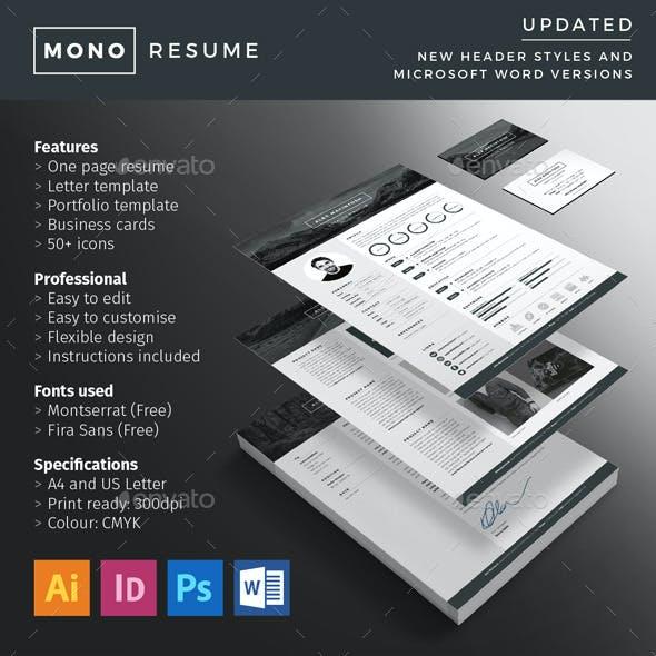 Mono Resume