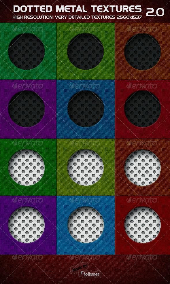 Dotted Metal 2.0 - Metal Textures