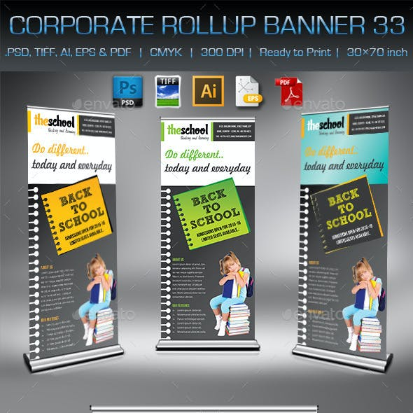 Corporate Business Rollup Banner 33