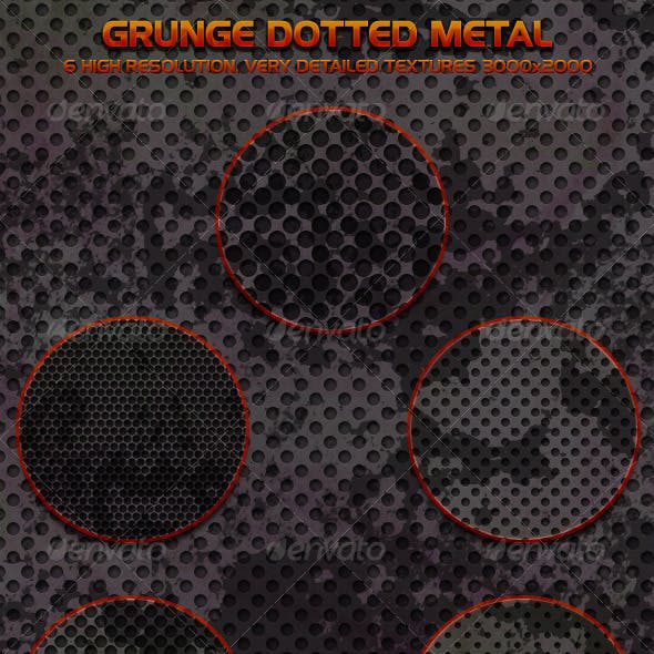 Grunge Dotted Metal
