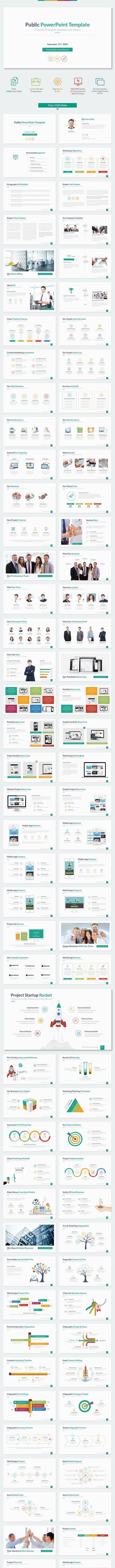 Public PowerPoint Template - Business PowerPoint Templates