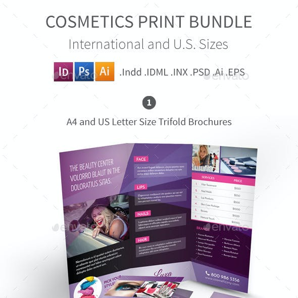 Cosmetics Print Bundle