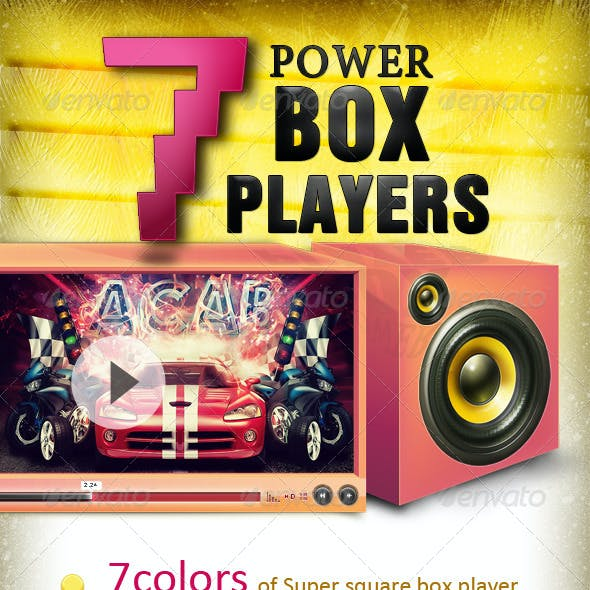 7 powerBOX players