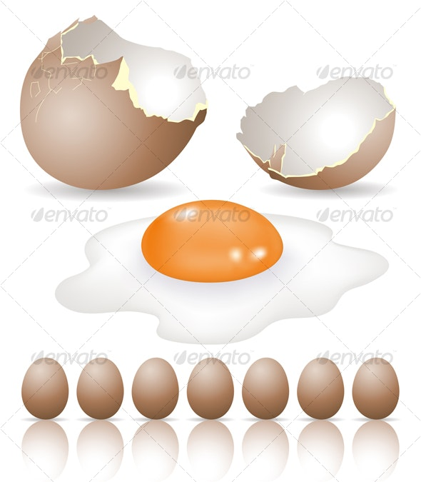 eggs - Food Objects