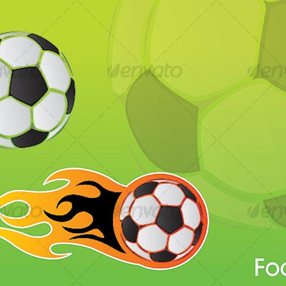 Football vector element - football illustration