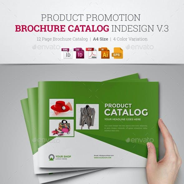 Product Promotion Catalog InDesign Template v3