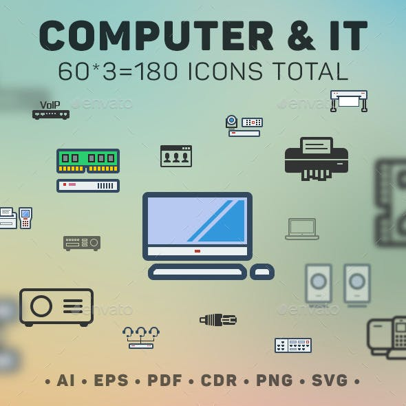 60 Computer & IT icons