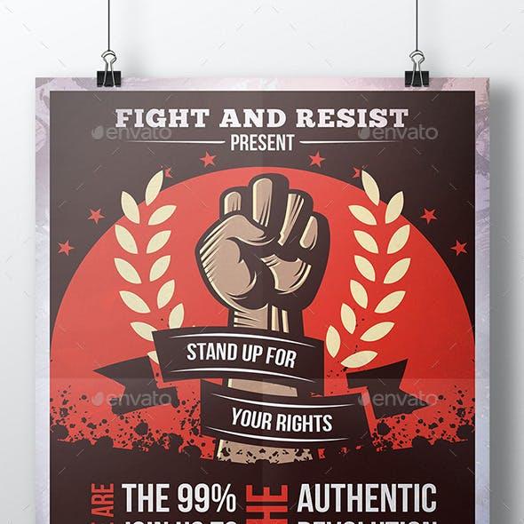 Revolution Flyer Template
