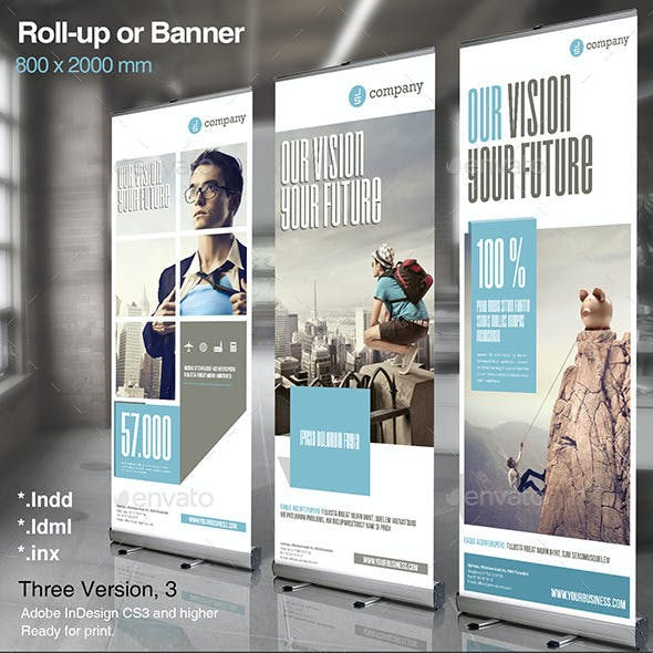 Corporate Roll-up or Banner Vol. 2