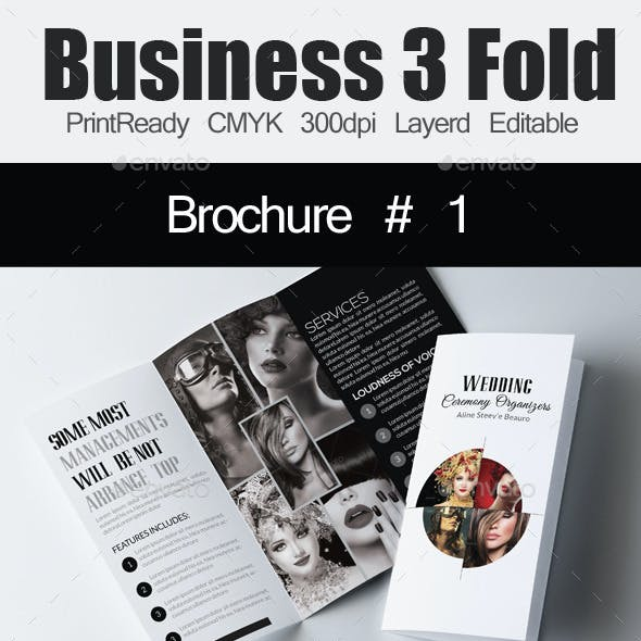Wedding Tri Business Brochure Bundle