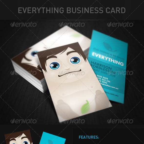 Everything Business Card