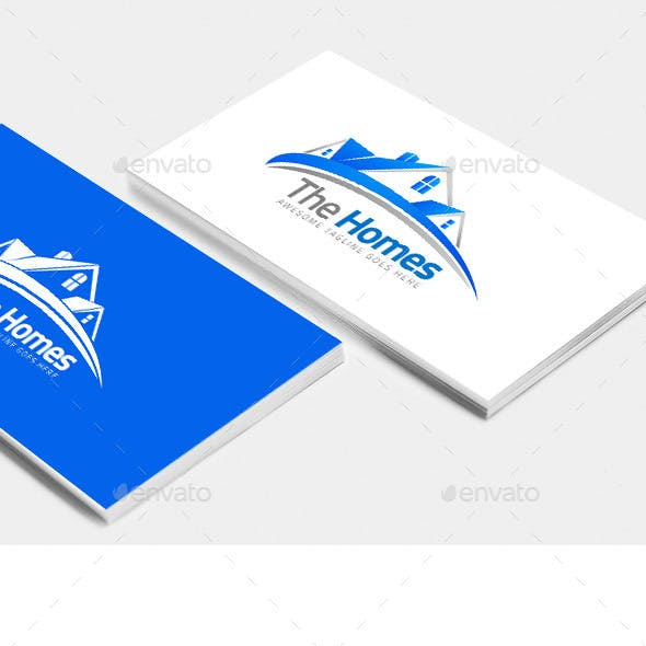 The Homes – Logo Template