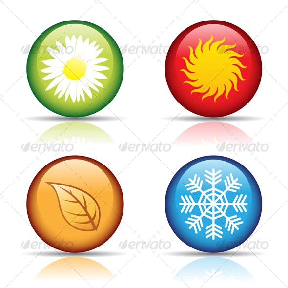 four seasons - Seasons/Holidays Conceptual