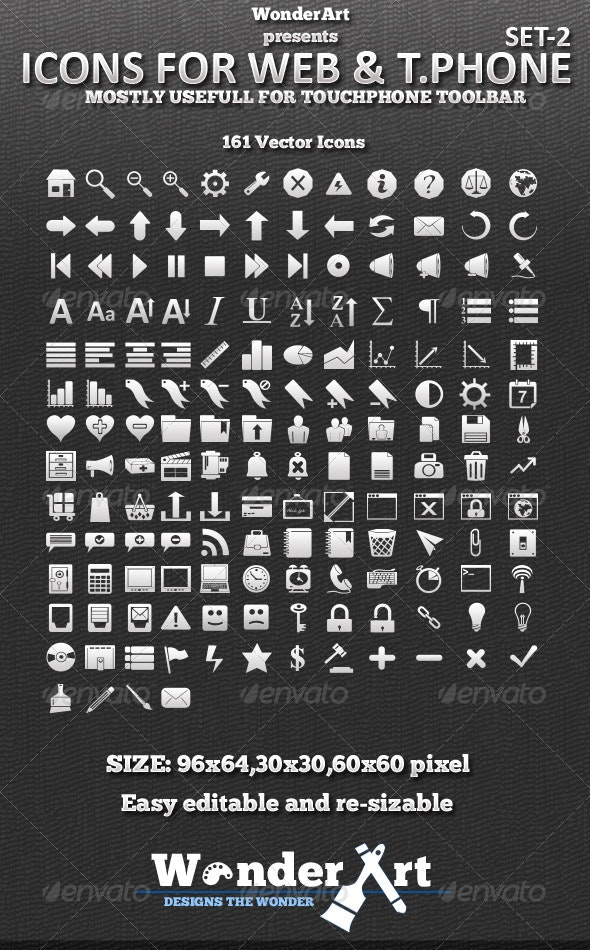 Icon for Phone - 2 - Miscellaneous Icons