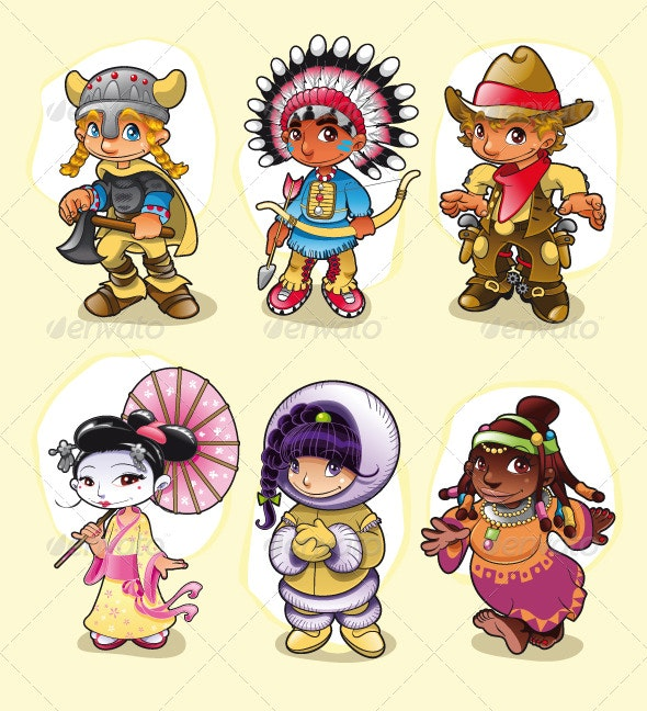 Historical Characters - Characters Vectors
