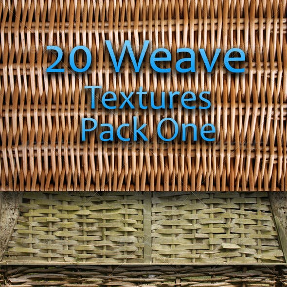 20 Weave Textures - Pack One