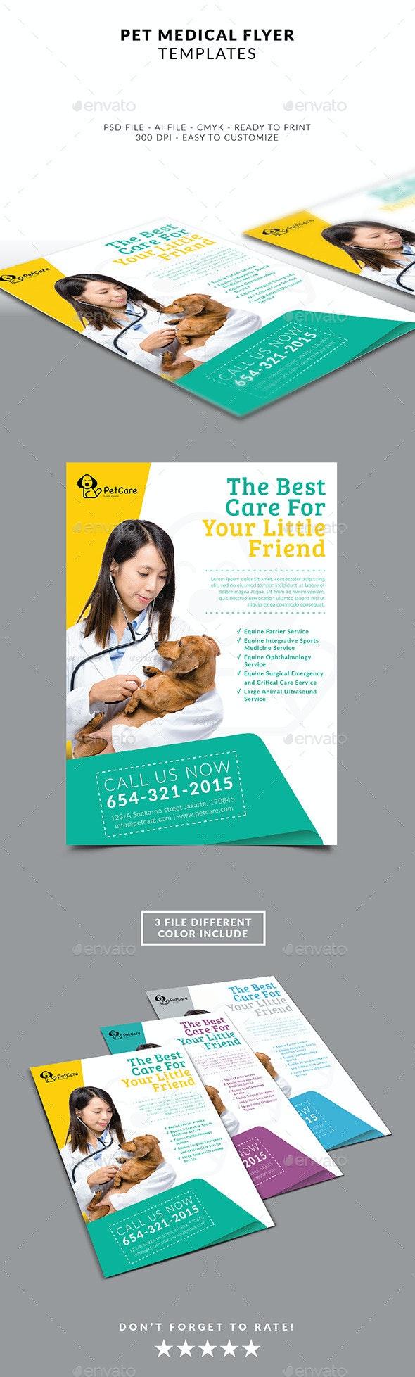 Pet Services Flyer Template - Flyers Print Templates