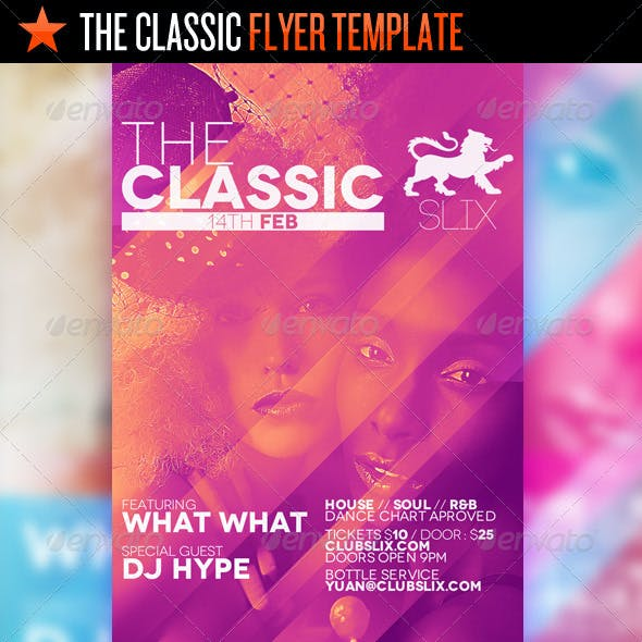 The Classic - Flyer Template