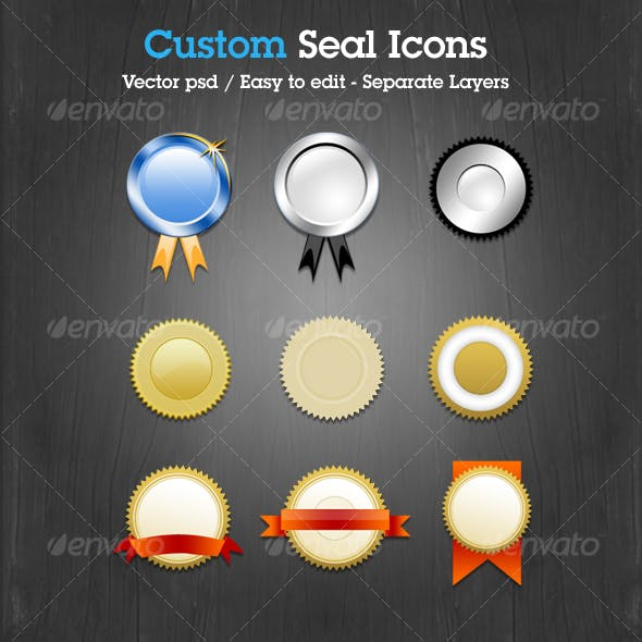 Custom Seal Icons
