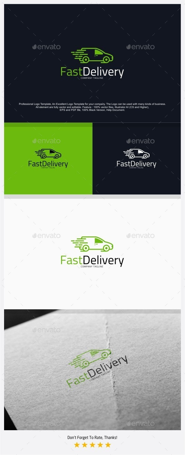 Fast Delivery Logo - Objects Logo Templates