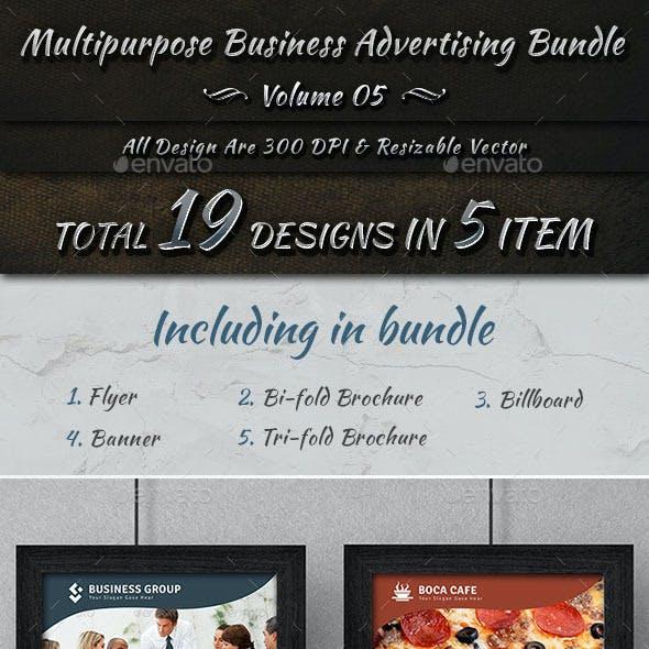 Multipurpose Business Advertising Bundle   Vol 5