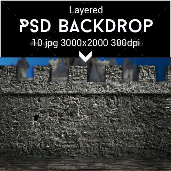 Medieval PSD Backdrop
