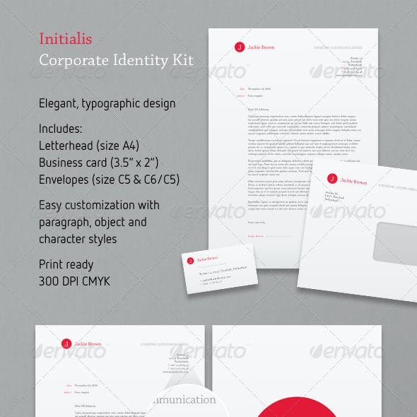Initialis Corporate Identity Kit