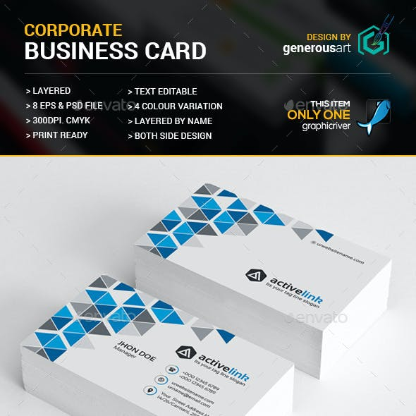 Active Link Business Card