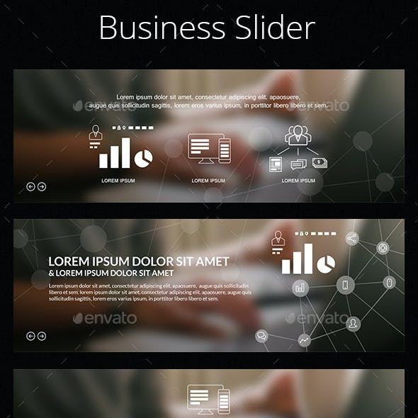 Simple 3 in 1 Business Slider