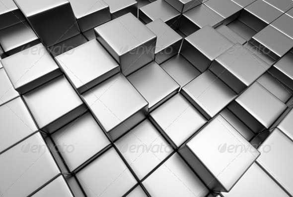 3D Abstract Background - 3D Backgrounds