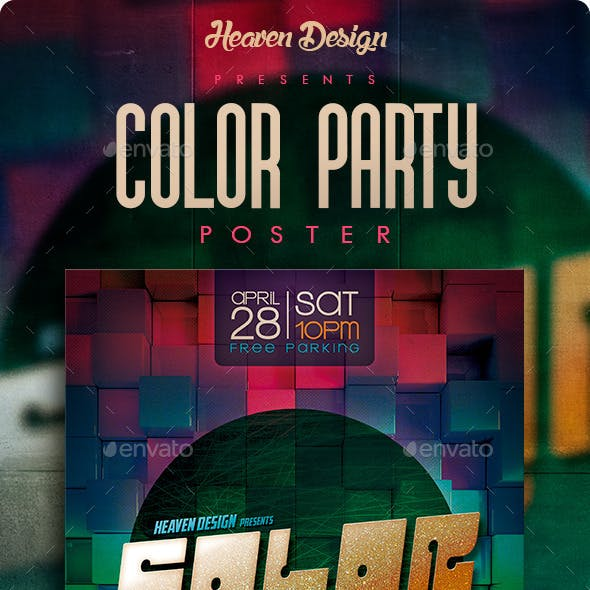 Color Party | Poster
