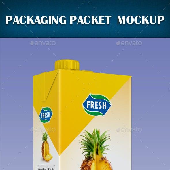 Packaging Packet Mock-up