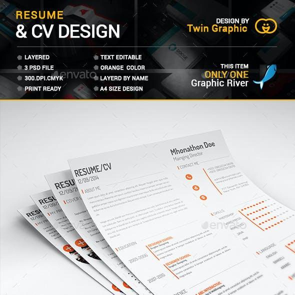 This is CV Resume Design