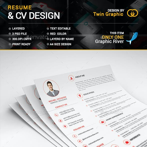 This is Corporate Resume Design