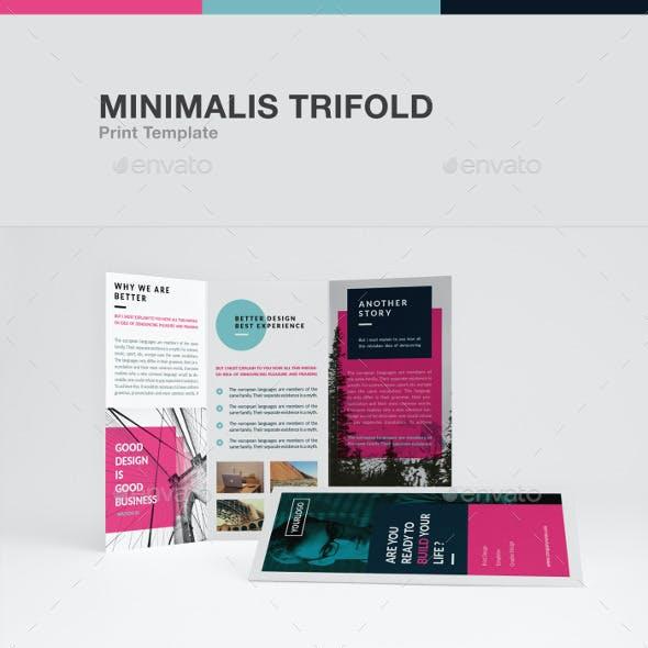 Minimalis Trifold