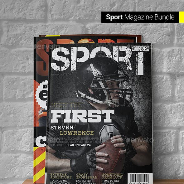 Sport Magazine Bundle
