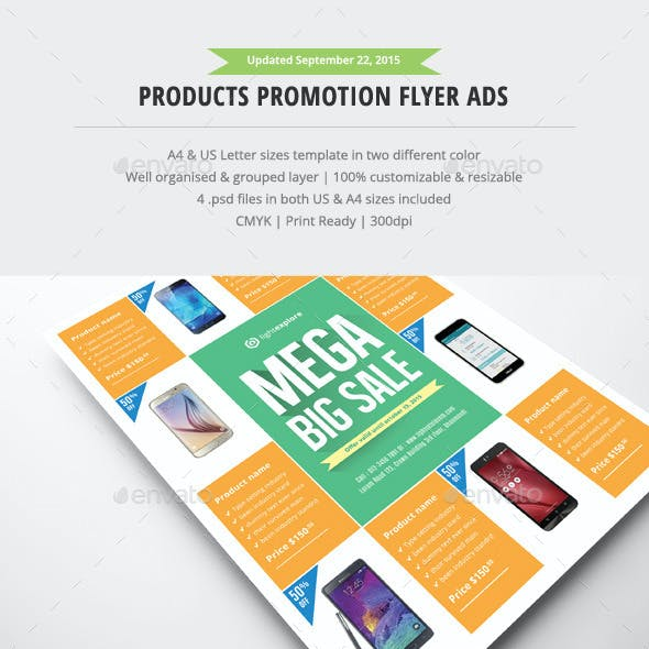 Product Promotion Flyer Ads