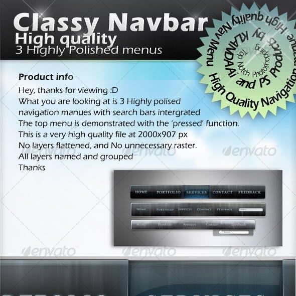 Classy NavBar