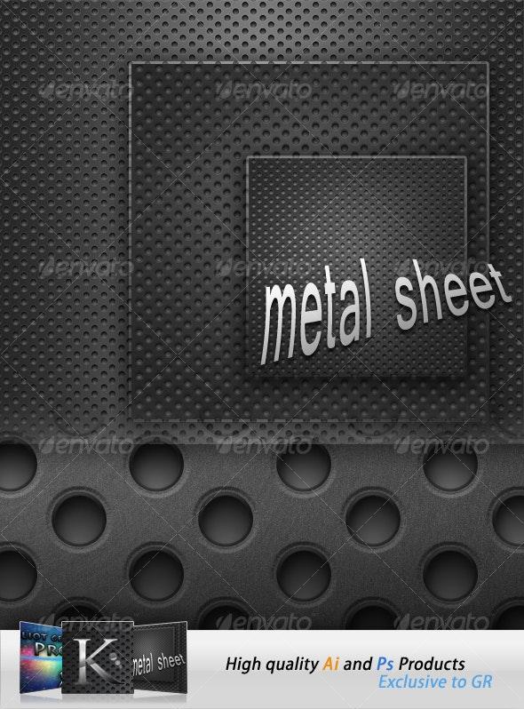Metal Sheets - Tech / Futuristic Backgrounds