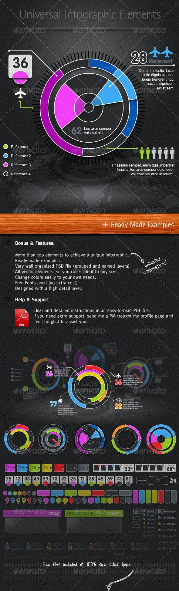 Universal Infographic Elements - Infographics
