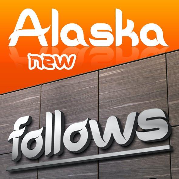 AlaskaNew Font